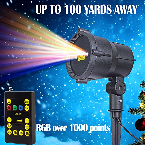Outdoor Landscape Laser Lighting - 1