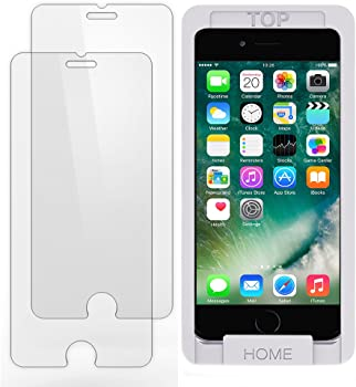 2-Pack Trianium Tempered Glass Screen Protector for iPhone 8/7