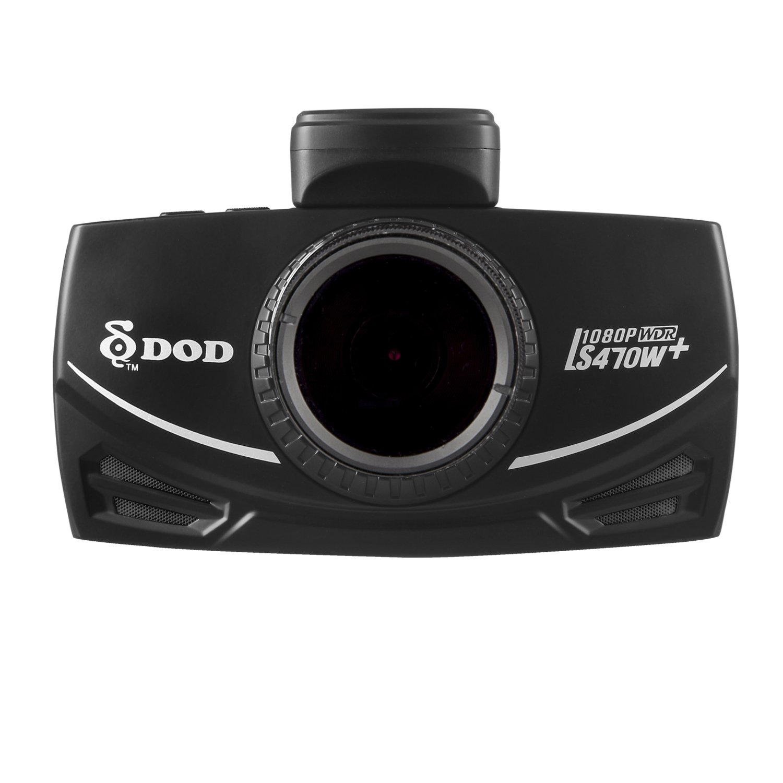 DOD TECH DOD-LS470W+ LS Sony Exmor Powered Full HD Dash Camera & GPS Logging with Polarizing Filter