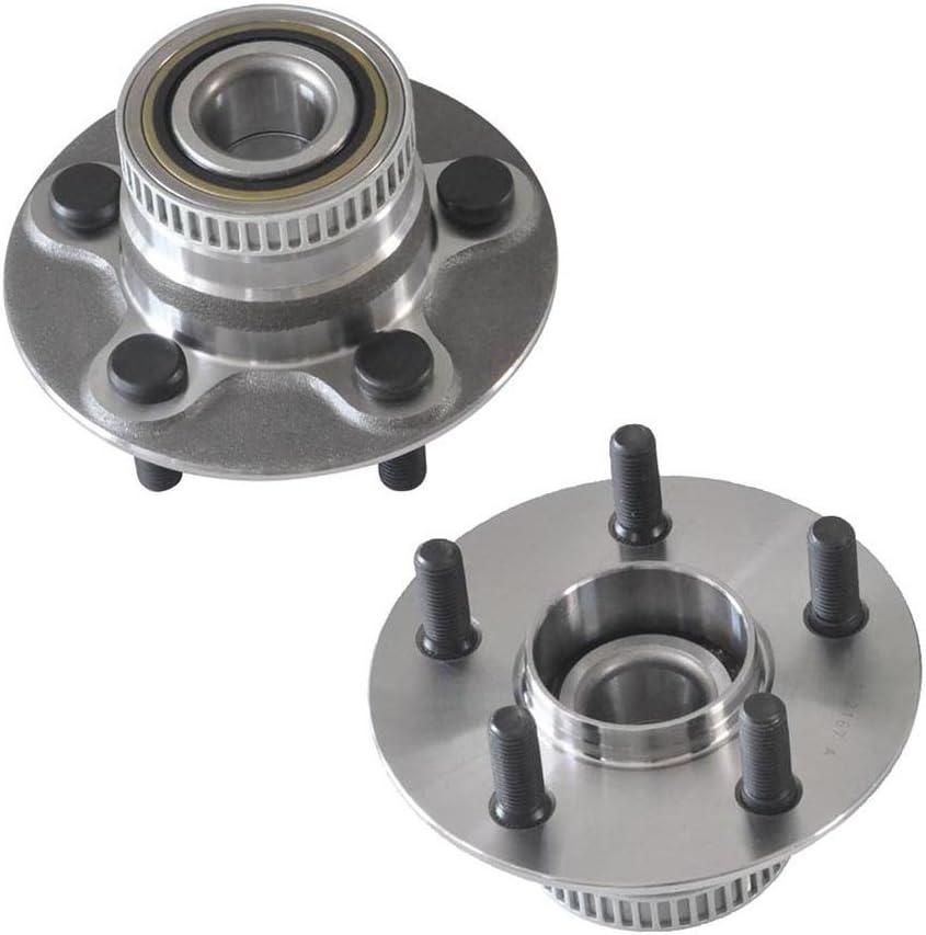 PAIR Rear Wheel Hub Bearing Assembly For 2003-2010 CHRYSLER PT CRUISER FWD