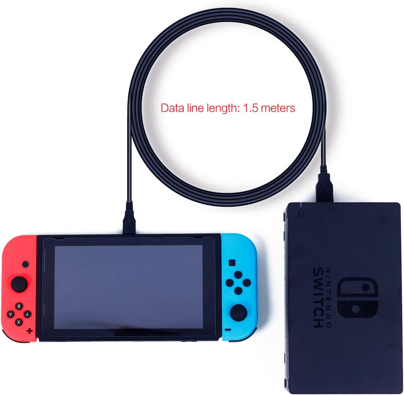 USB C Charger for Nintendo Switch, Fast Charging Cable for Nintendo Switch, MacBook, Pixel C, LG Nexus 5X G5, Nexus 6P/P9 Plus, One Plus 2, Sony XZ ...