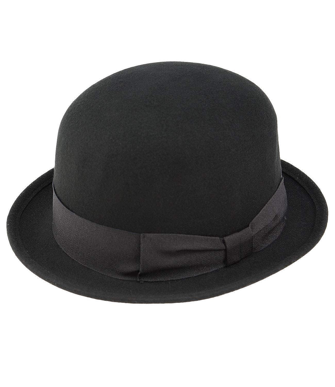 EveryHead Women's Plain Bowler Hat FI-15072