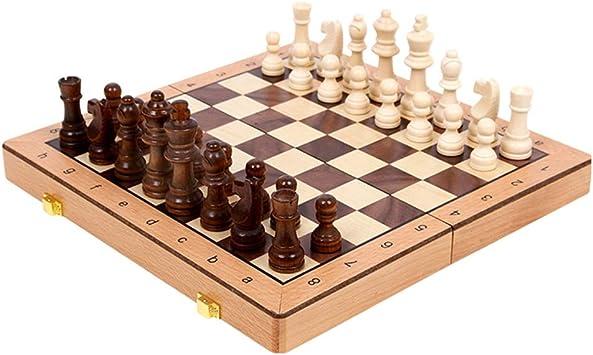 CAIM De Madera Maciza de Juego de ajedrez, Juego de ajedrez ...