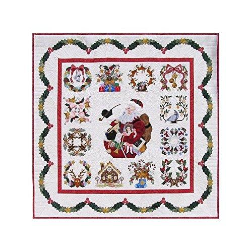 (P3 Designs Baltimore Christmas BOM Block of Month Patterns Set)