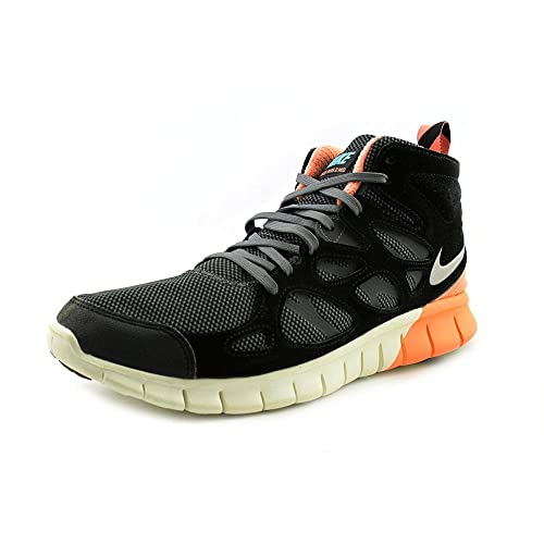 best service 113e0 ada5d nike free run 2 mens sneakerboot hi top trainers 616744 001 sneakers shoes  (uk 8.5 us 9.5 eu 43)  Amazon.co.uk  Shoes   Bags