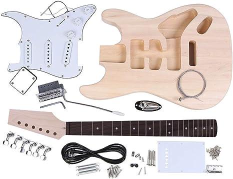 Kit de bricolaje de guitarra eléctrica Doolland (estilo ST ...