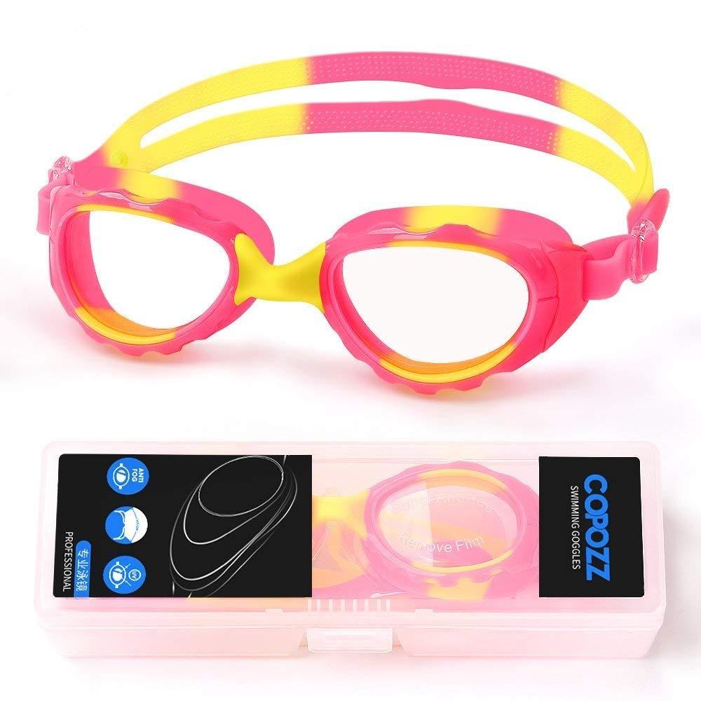 e05ad8531e COPOZZ Kids Swimming Goggles