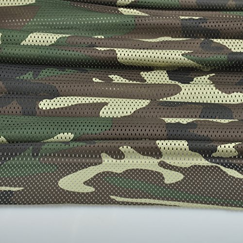 (Woodland Pattern Camo Camouflage Net Cover Army Military 60