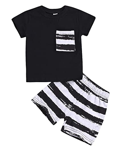 9d281cb607f63 Infant Baby Boy Clothes Sets Summer Cotton Short Sleeve T Shirts and Shorts  Kids Outfits Sets
