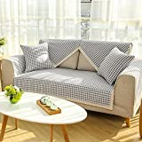 Sofa towel covers Pet couch cove Sofa slipcover Couch protector Furniture slipcovers Sectional couch cover Slip covers for sofa Slipcovers for couches and loveseats-A 110x210cm(43x83inch)