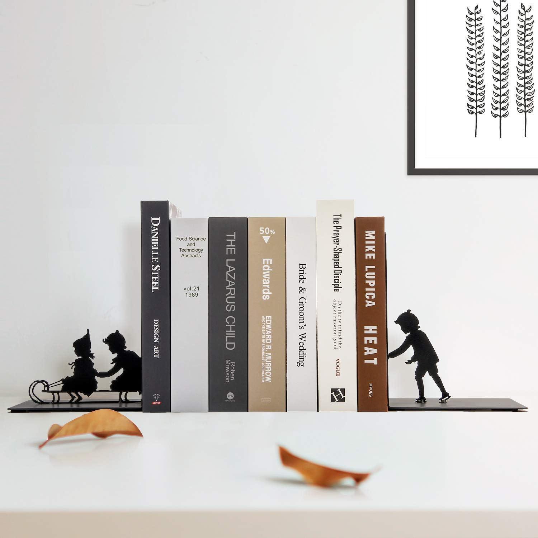 2 Photos Chambre /à Coucher /étude Mesily Serre-Livres pour /étag/ères en m/étal tr/ès r/ésistant Noir pour Salon