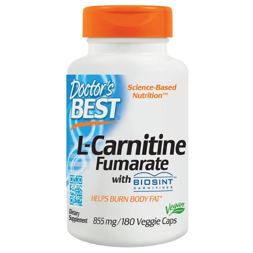 Doctors Best - El mejor magnesio del Fumarate 855 del L-Carnitine. - 180 cápsulas vegetarianas: Amazon.es: Salud y cuidado personal