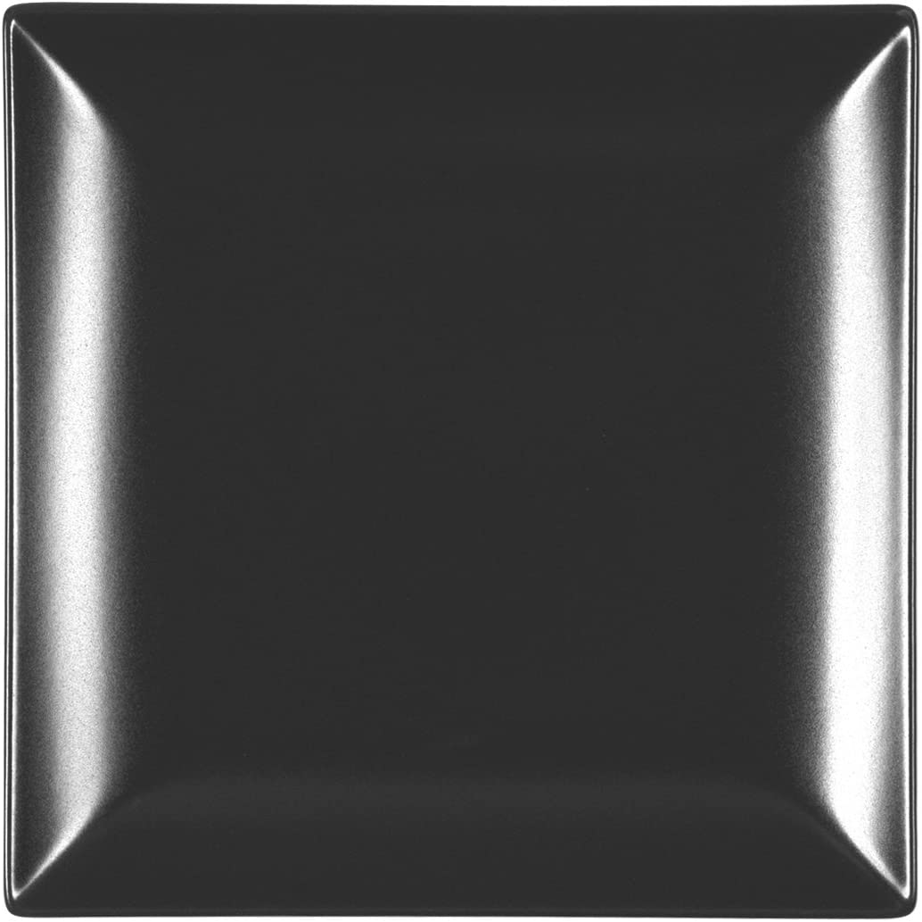 Quadrato Tortora 24x24 cm Stoneware H/&H Boston Set 6 Piatti Piani