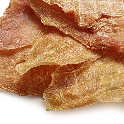 Green Valley Treats Chicken Jerky Dog Treats 98% Fat Free Restaurant Quality Chicken Breast Treat for Dogs
