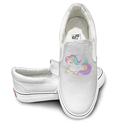 Unicorns Men's & Women's Low-top Canvas Shoes Sneakers Pumps Walking Shoe