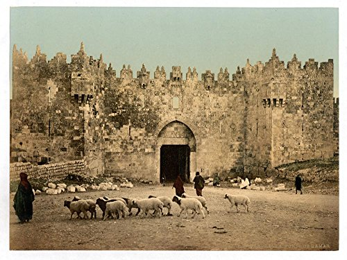 Historic Photos The Damascus Gate, Jerusalem, Holy Land by Historic Photos