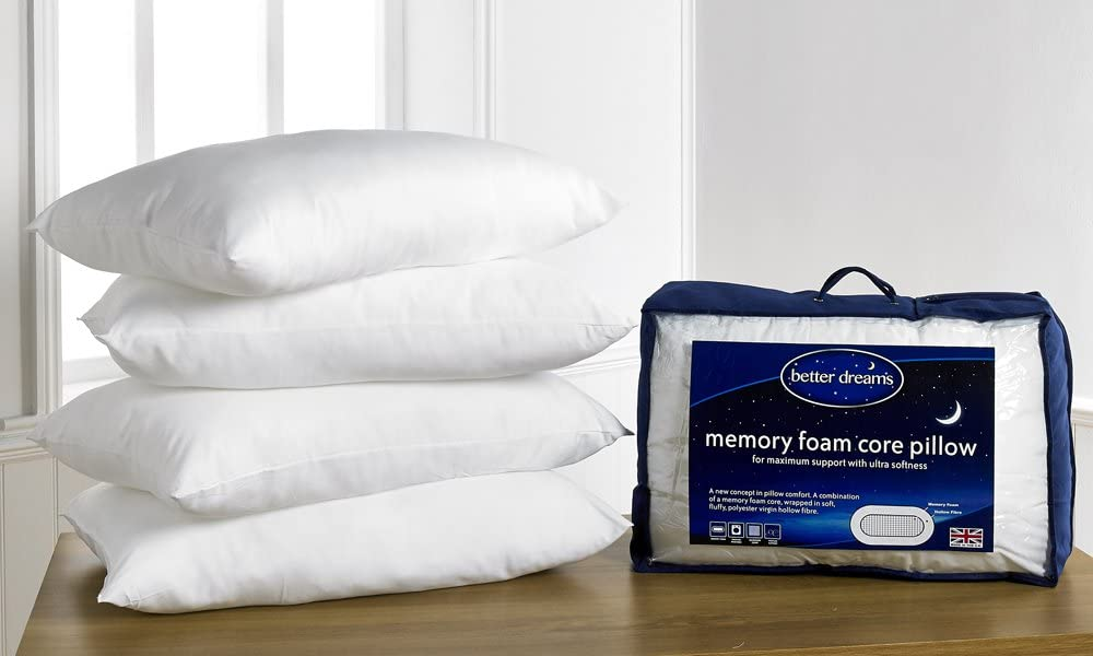 Better Dreams Memory Foam Core Pillow 4