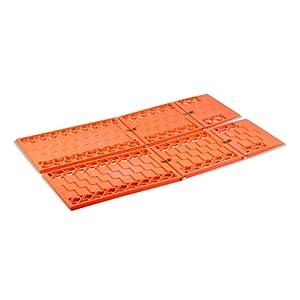 Cartrend 96173 Plaques de désenlisement 2 pièces, dimensions : 59 x 17,50 cm, oranges