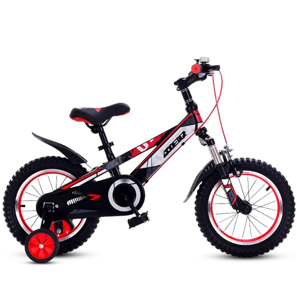 garantía de crédito YIHANGG Bicicleta Para Niños 3~9 Años Pequeña Bicicleta 12/14/16/18 12/14/16/18 12/14/16/18 Pulgadas Bicicleta Para Niña Y Niño Ajustable Ligera Entrenamiento Ruedas,Red-16Inches  la mejor oferta de tienda online