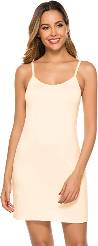 Final Sale Adea Full Slip with Scoop Neck and Spaghetti Straps