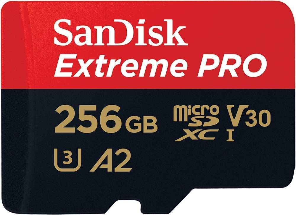 SanDisk microSD Extreme Pro 128 GB and microSD Reader//Writer UHS-I with USB 3.0 Reader