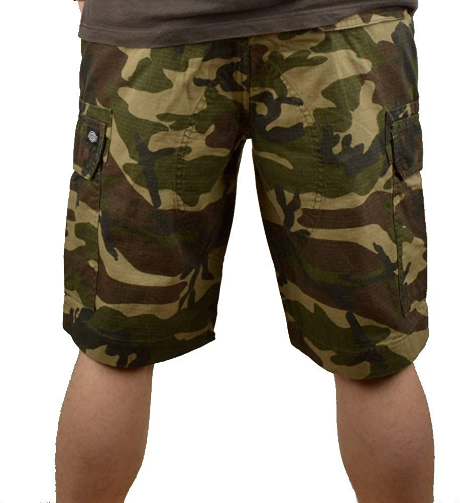 Dickies Men's New York Workwear Shorts Camouflage