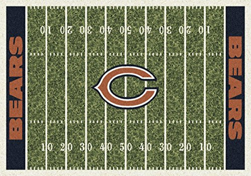 Milliken Chicago Bears NFL Team Home Field Area Rug by, 7'8