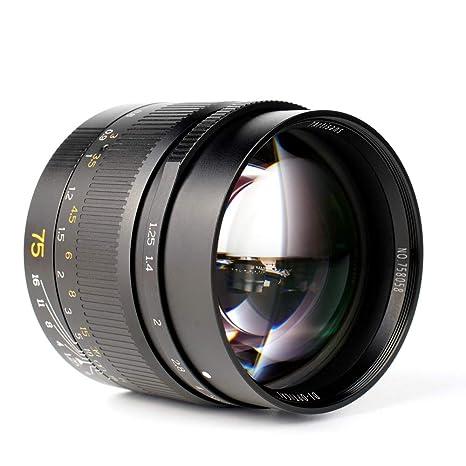 7artisans F1.25 Full Frame - Objetivo Fijo Manual para cámaras sin ...