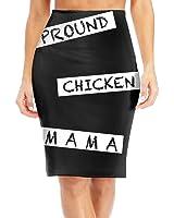 BaodaooPround Chicken Mama Hen Farm Chicken Slim Vintage Pencil Skirts For Women High Waist Pencil Skirt Short Fitted Mini Skirt Bundle Packs