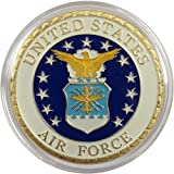 UNITED STATES AIR FORCE MILITIARY CHALLENGE COIN GOLD