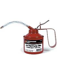 Performance Tool W242 Red, 3/4 Pint Pump Oiler