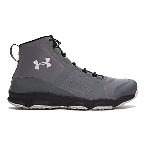 Under Armour Mens Speedfit Hike Mid Trail Sneaker, Graphite/Black/Smoke, 8