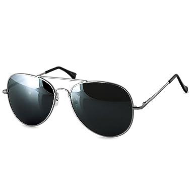 Fliegerbrille schwarz silber XlYNx2mlkg