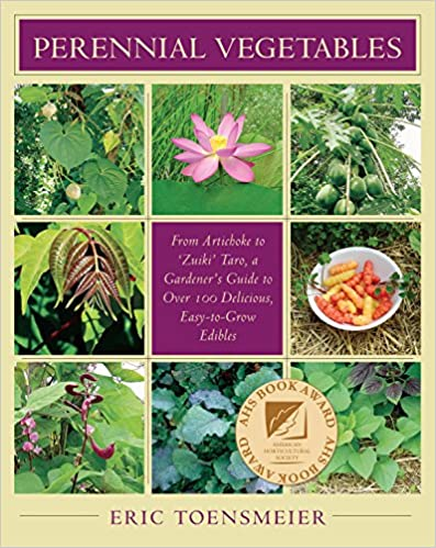 Perennial Vegetables by Eric Toensmeier is a great gift for a homesteader