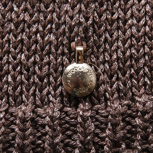 Donna Woolrich Tape Shine C4726 New Marron Sweater Woman Marrone Maglia EBxEaqp