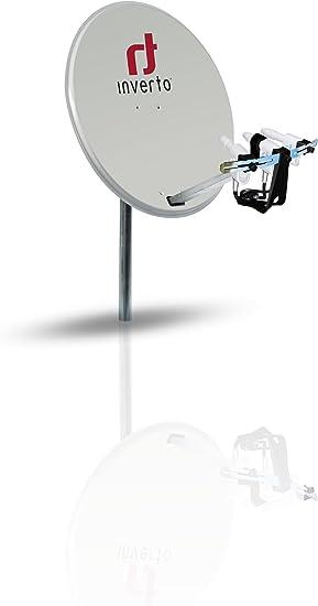 Inverto 80 cm Antena parabólica de Acero: Amazon.es: Electrónica