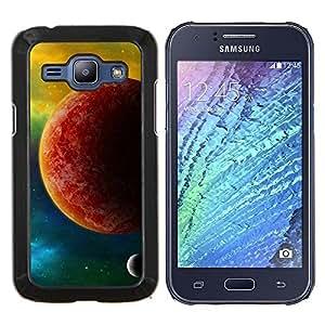 """Be-Star Único Patrón Plástico Duro Fundas Cover Cubre Hard Case Cover Para Samsung Galaxy J1 / J100 ( El Planeta Rojo"""" )"""