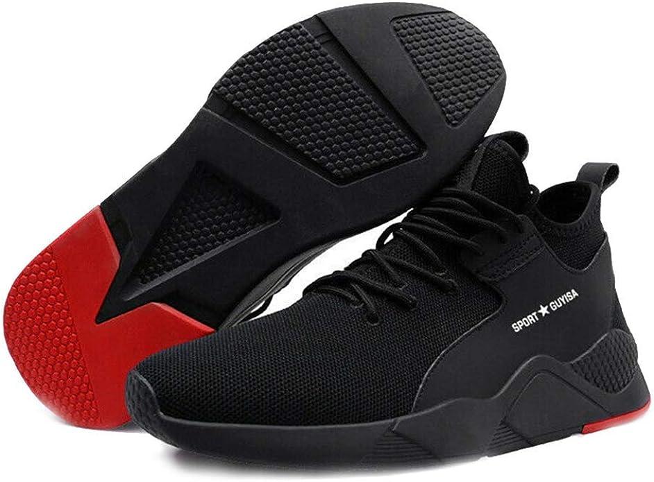 Dovlen - Zapatillas Deportivas para Hombre de Malla, ultraligeras, Transpirables, para Correr, Caminar, Gimnasio, Color Negro, Talla 40 EU: Amazon.es: Zapatos y complementos