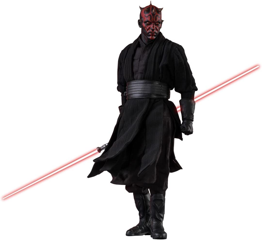 """Ep.1 Darth Maul LIGHTSABER for 12/"""" Star Wars Action Figure Sixth Scale NEW"""