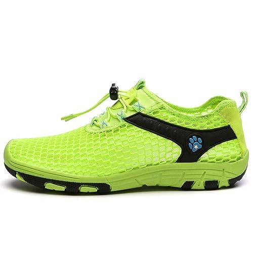 Sandalias de Senderismo para Hombre Zapatillas de montaña Senderismo Transpirable Suave: Amazon.es: Zapatos y complementos