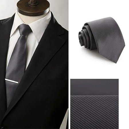 YXN Corbatas de Color sólido/Corbata de Trabajo/Boda, Novios ...