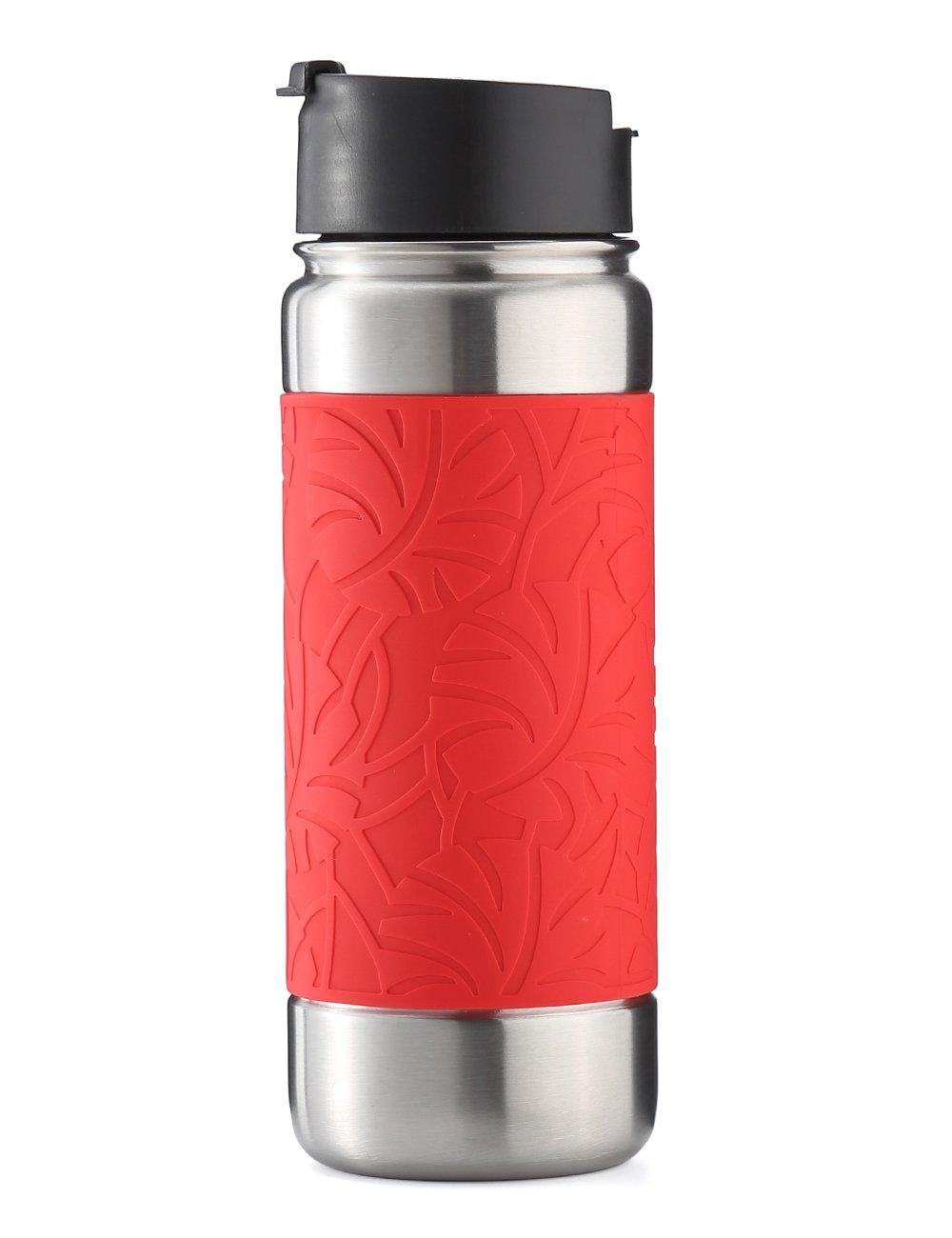 ボトル 330ml ストロー付き 子ども キッズ 2way 直飲み BPAフリー ウォーターボトル 水筒 軽量 手提げ可能 スポーツ アウトドア 入学 通学 入園 通園 bottlebottle (鹿) B07DL2NDNS