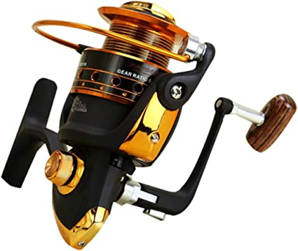 73JohnPol Spinning Carbon Fiber Drag Carrete de Pesca de Agua ...