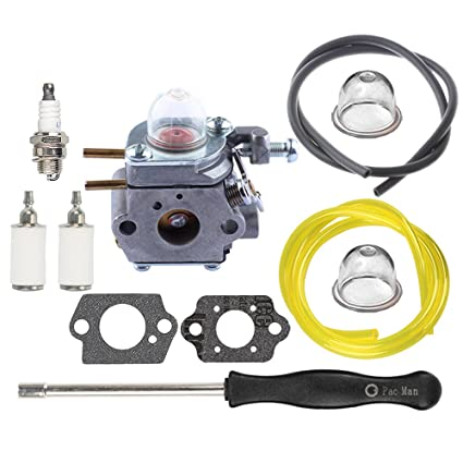 amazon com hipa wt973 carburetor with fuel line fuel filter spark