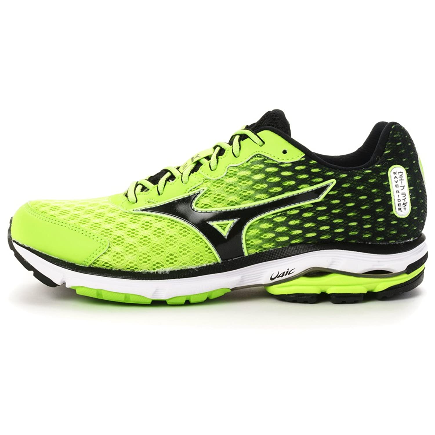 new style 29e9b 3f229 MIZUNO Men's WAVE RIDER 18 Running Shoes J1GC150310 lovely ...