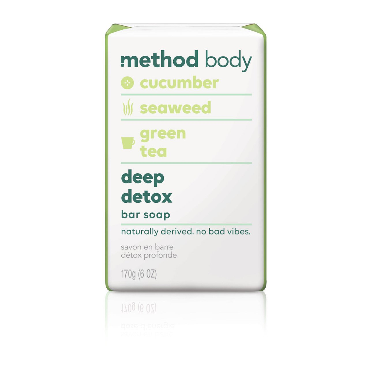 Method Experiential bar soap, Deep Detox, 1.52 lb 1406-19504-1250