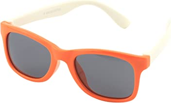 CGID' Gummi Flexible Kinder Polarisierte Wayfarer-Style Sonnenbrillen für Baby und Kinder im Alter von 3-6, K25