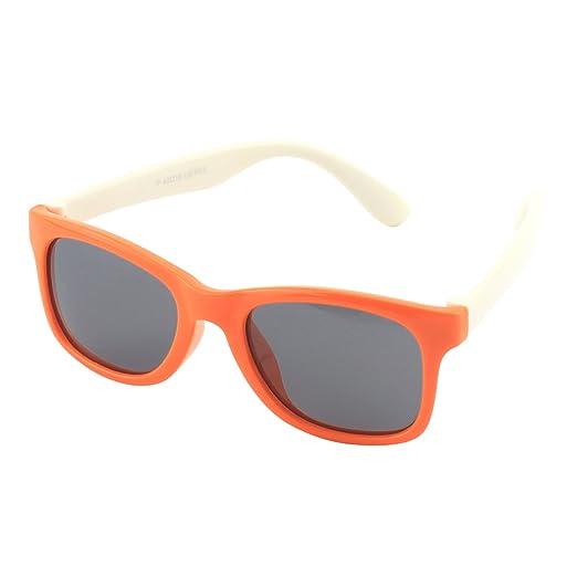8 opinioni per CGID Occhiali da Sole per Bambini Gommati Flessibili Wayfarer Lenti Polarizzate