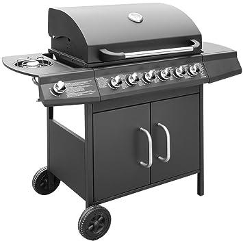 Generic dyhp-a10-code-6303-class-1 -- cocina libre Cove ver lado exterior y figuras Garden Party urners de gas barbacoa parrilla para barbacoa Ecue 6 + 1 ...