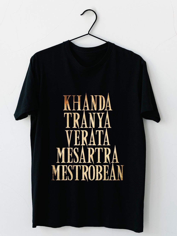 Ash Vs Evil Dead Khanda Tranya Verata 93 T Shirt For Unisex